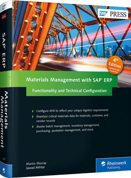 Materials Manage­ment with SAP ERP: Functio­nality and Tech­nical Confi­gura­tion