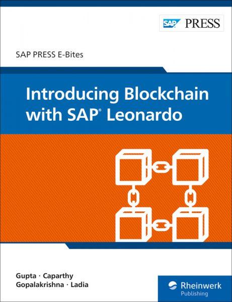 Introducing Blockchain with SAP Leonardo