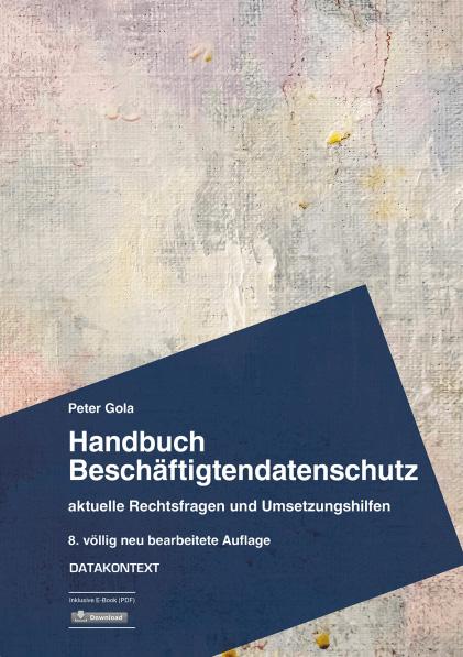 Handbuch Beschäftigtendatenschutz