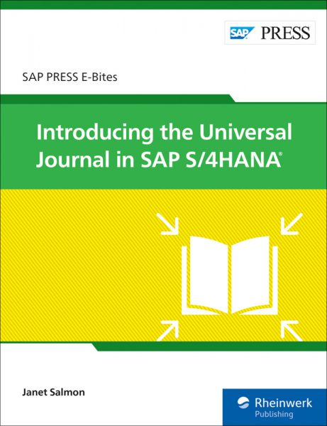 Introducing the Universal Journal in SAP S/4HANA