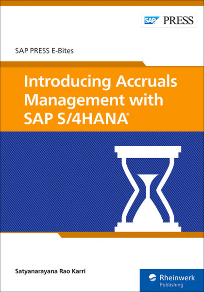 Introducing Accruals Management with SAP S/4HANA